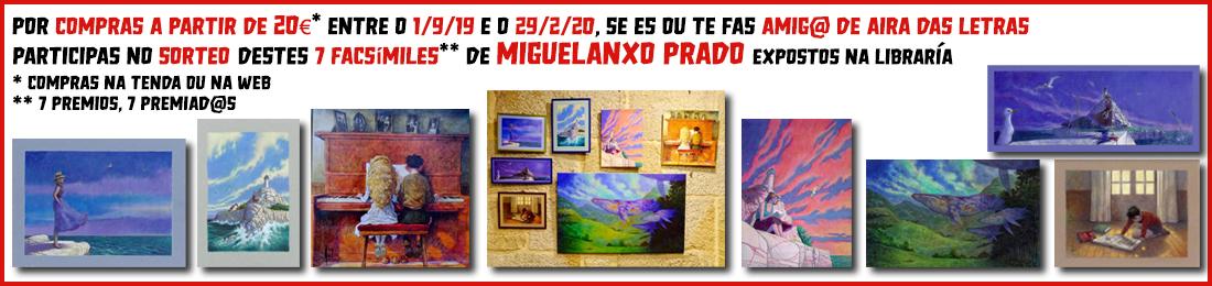 Sorteo de 7 facsímiles de obras de Miguelanxo Prado na libraría Aira das Letras